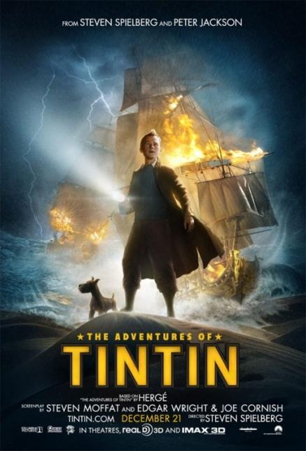 Tintin y su fiel perro