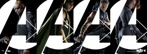 banner vengadores personajes