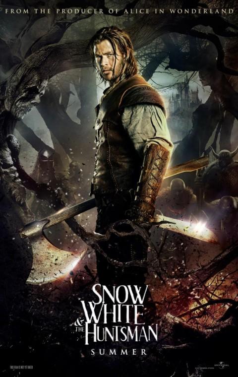 blancanieves y el cazador chris hemsworth