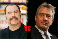 john travolta vs robert de niro