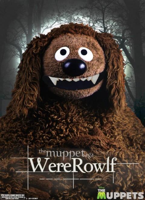 muppets crepusculo wererowlf