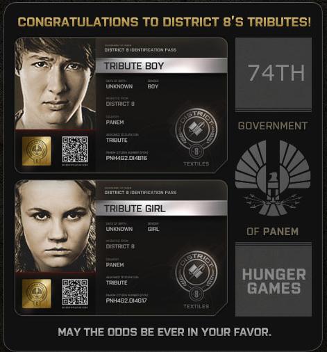 Los Tributos del Distrito 8