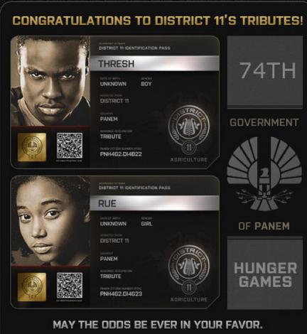 Los Tributos del Distrito 11