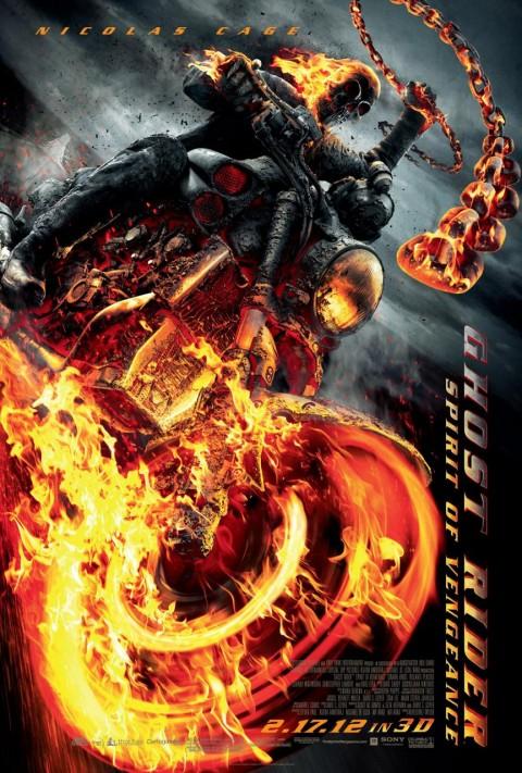 ghost rider espiritu venganza poster