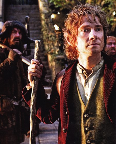 Bilbo bolson listo para partir