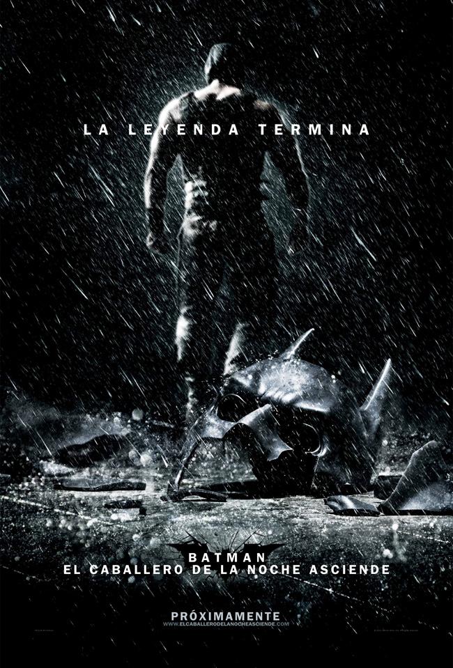 el caballero de la noche asciende poster spanish