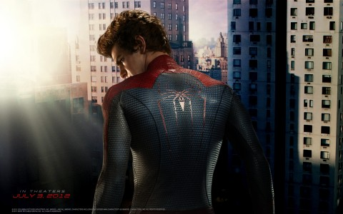incrible hombre araña peter parker andrew garfield