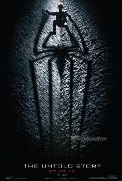 poster increible hombre araña