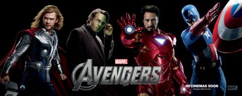 Los Heroes más poderosos del planeta Thor, Hulk, Iron Man y Capitan América