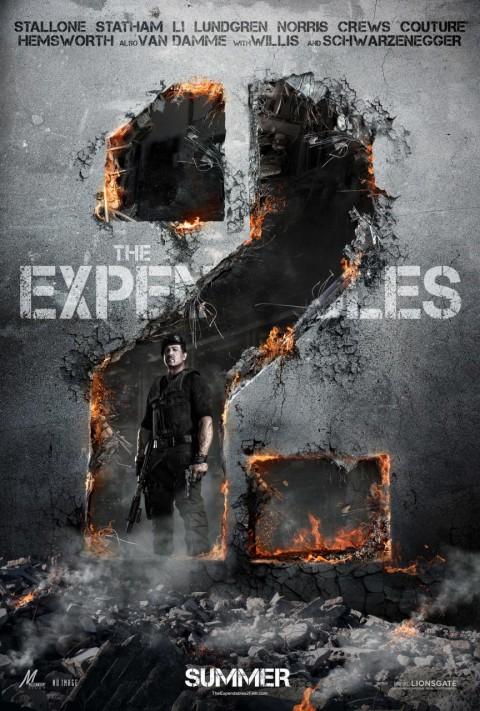poster oficial indestructibles 2