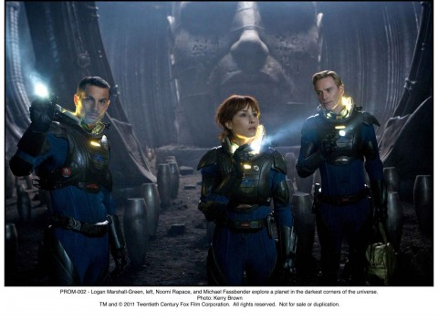 marshall green rapace fassbender prometheus