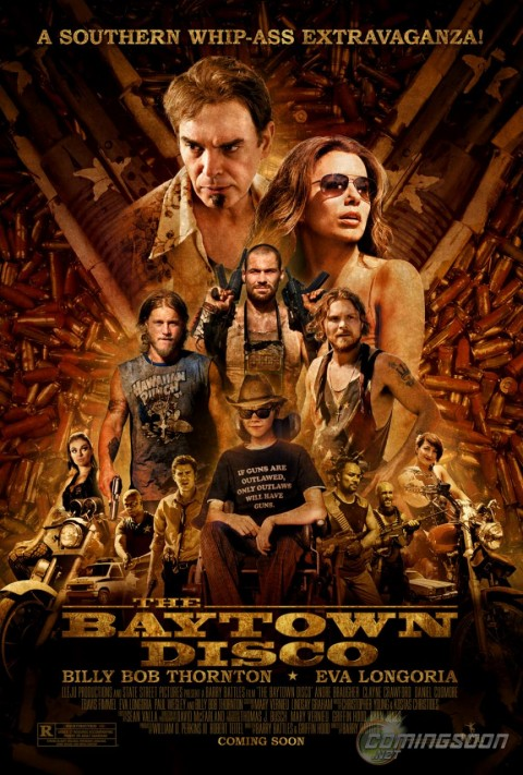 the bay town disco poster