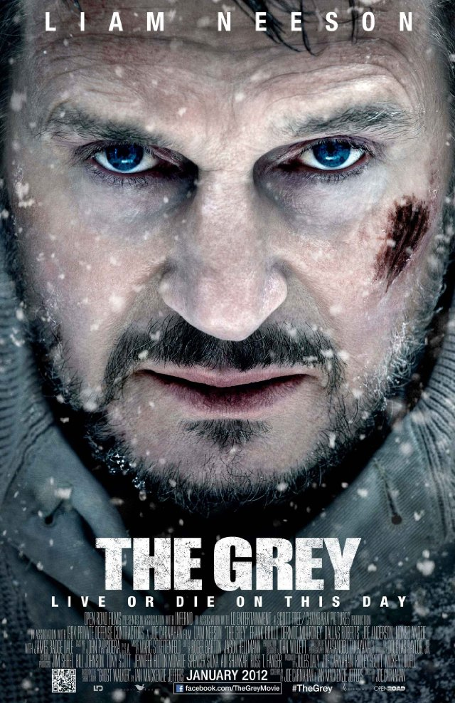 the grey poster liam neeson