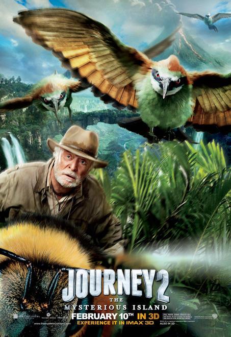 michael caine isla misteriosa viaje