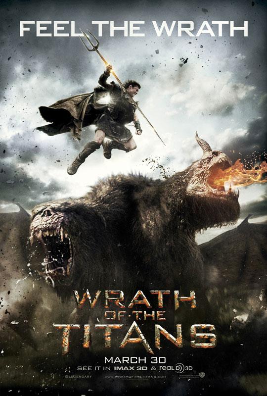 poster furia de titanes 2