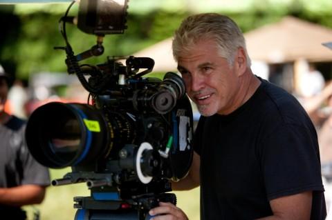 El Director Gary Ross en el set de THE HUNGER GAMES.