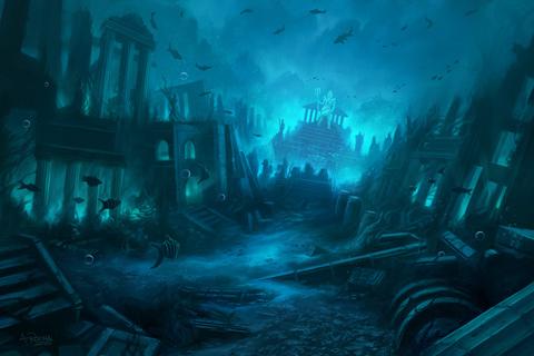 atlantis ciudad perdida