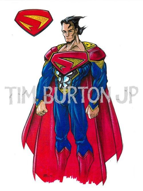 burton superman