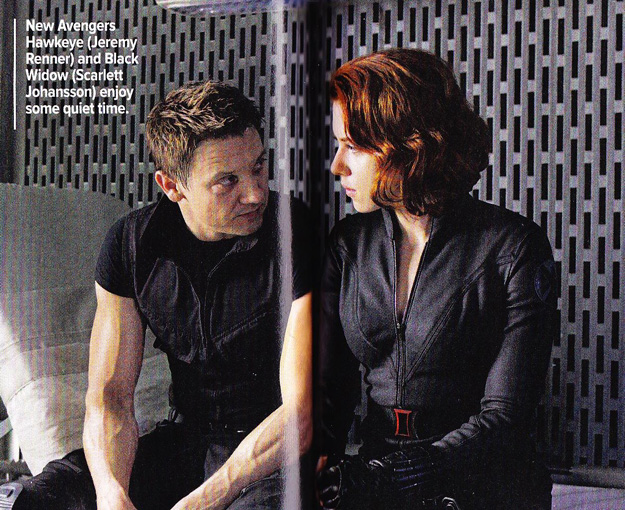 Hawkeye y Black Widow