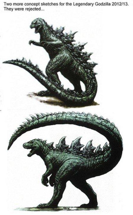 Las versiones que no fueron de Godzilla