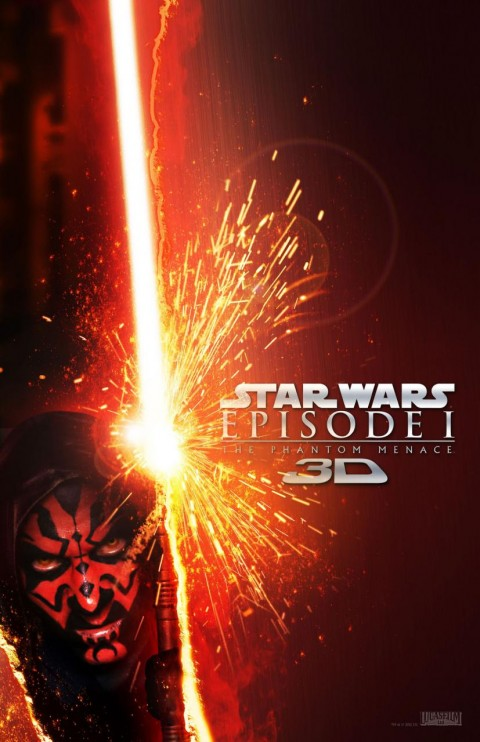Star Wars Episodio I La Amenaza Fantasma en 3D