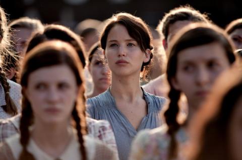 Katniss lista para el día de la cosecha