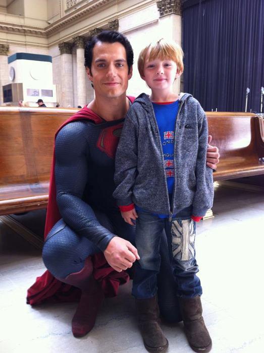 superman steel kid