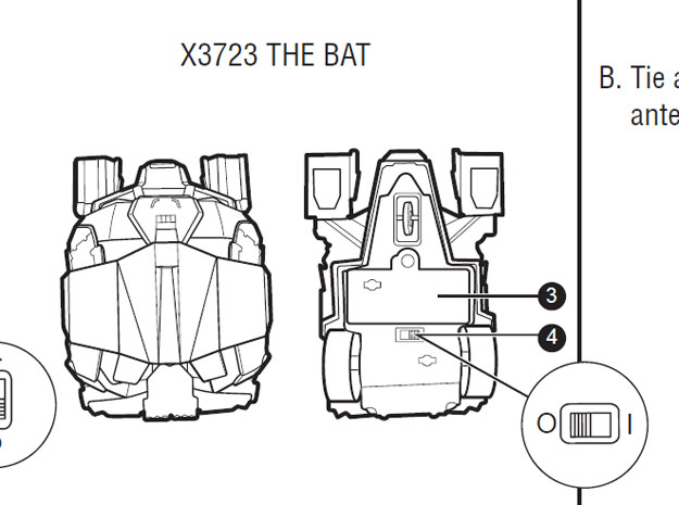 the bat jugete murcielago batman