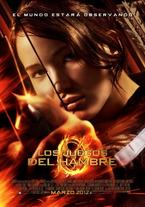 Katniss La Chica en llamas en Los Juegos del Hambre