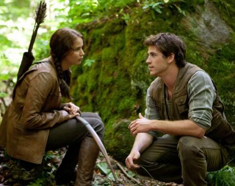 Gale y Katniss un excelente equipo de caza