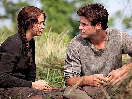 Katniss y su mejor amigo Gale