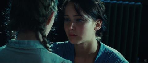 Katniss se despide de Prim