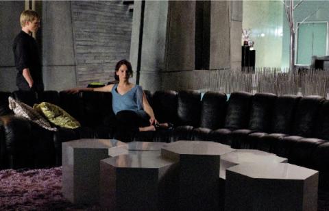 Peeta y Katnis los tributos del distrito 12 y tambien...