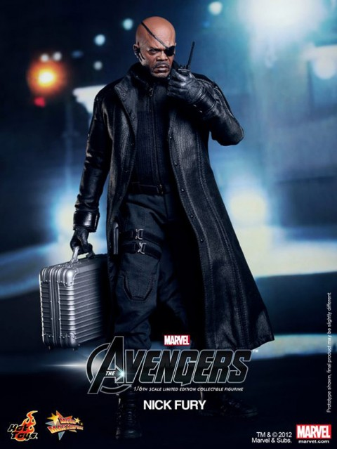Nick Fury el lider de SHIELD