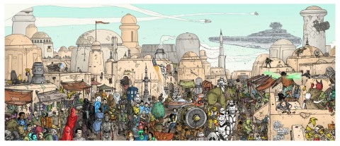 star wars meets wally conoce