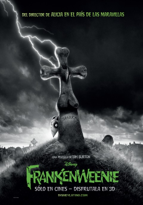 frankenweenie mexico poster