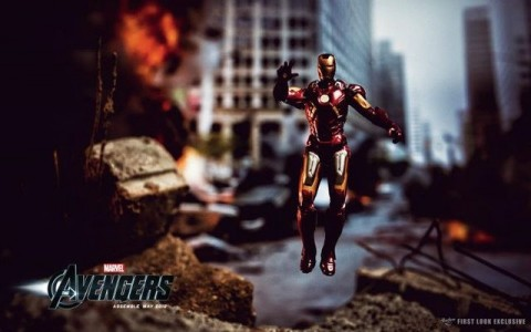 Iron Man listo para jugar