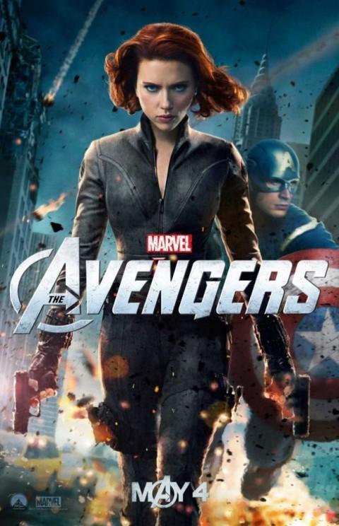 Black Widow es una Avengers