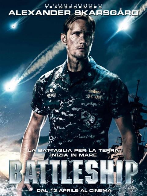 Alexander Skarsgard batalla naval poster