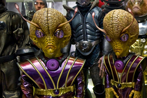hombres negro 3 aliens