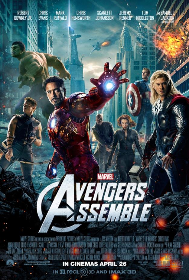 avengers vengadores uk poster