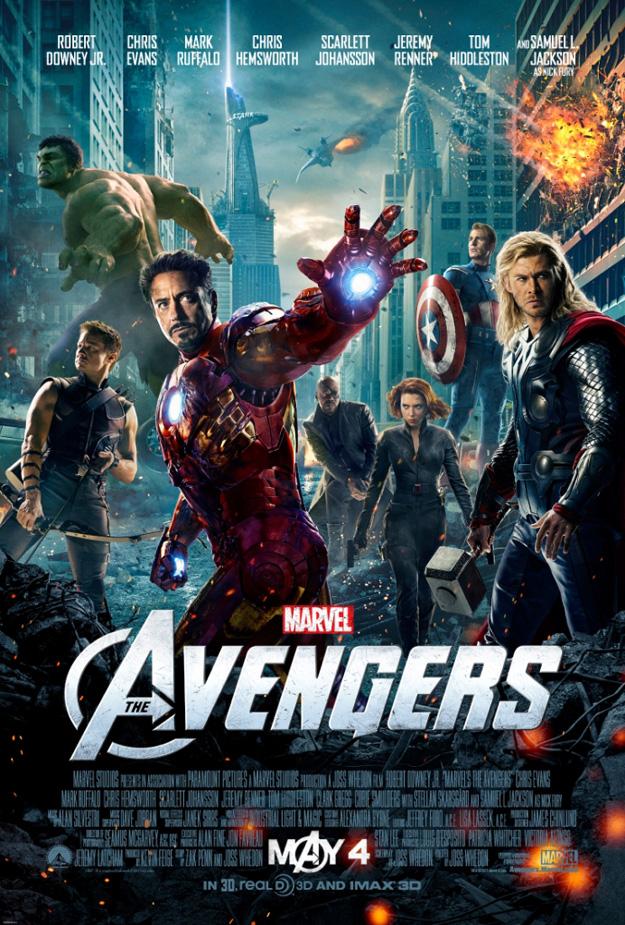 avengers vengadores poster