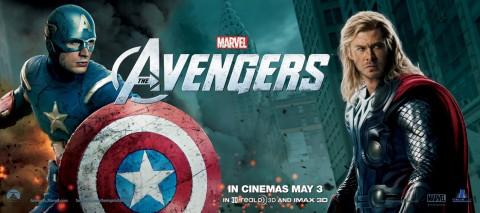 avengers capitan america thor