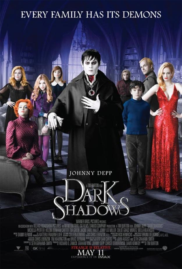 dark shadows poster cartel