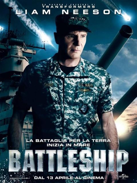 liam neeson batalla naval poster