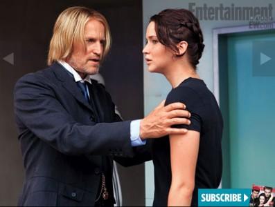 Haymitch y Katniss