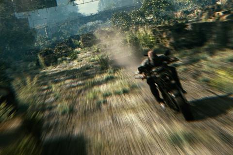 ruin biker