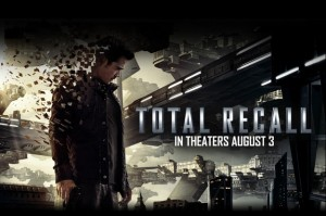 total recall colin farrell poster