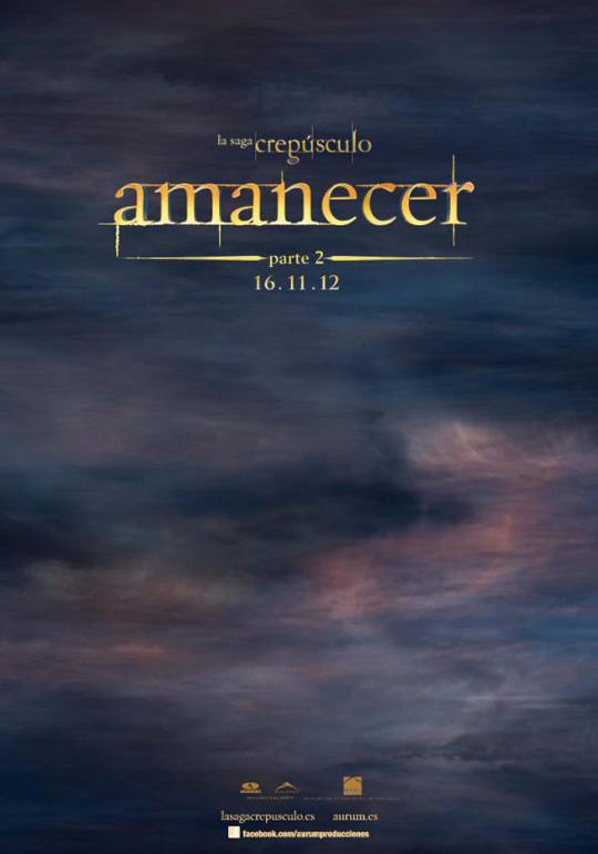 amanecer parte 2 poster