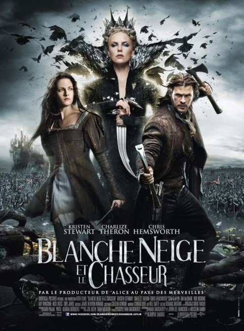 blancanieves cazador poster frances